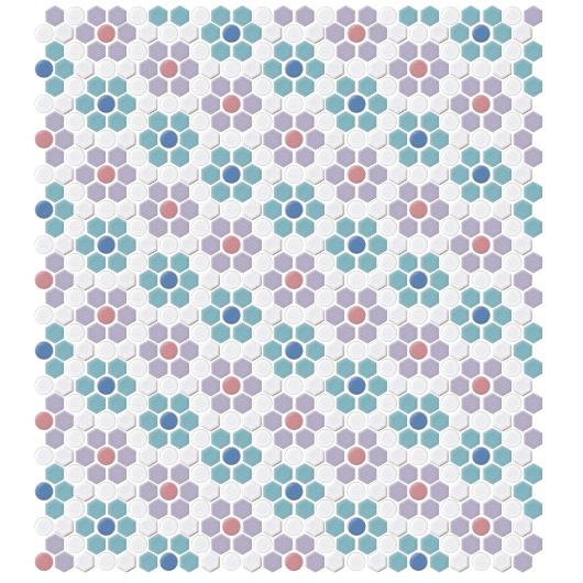 違う配色の4シート並べた画像です。