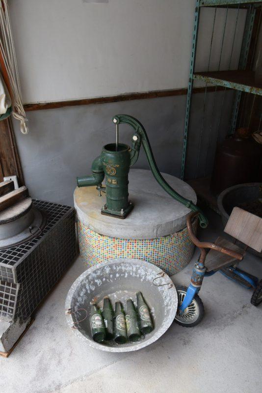 井戸がありますがここにピンドットを張っていただきました。