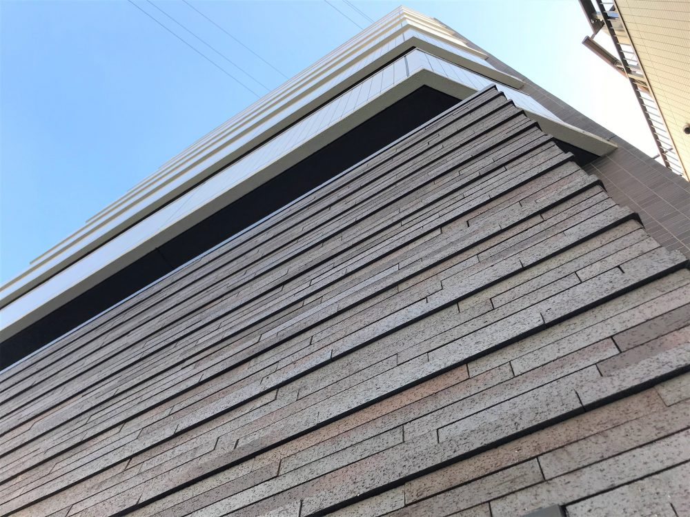 クレイソコラ タイル 湿式ボーダータイル 厚さ違いタイル エクステリアタイル