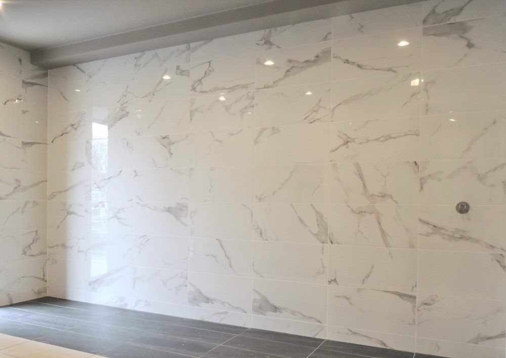 サンアリオ 磨きタイル 内装壁 600×300角タイル